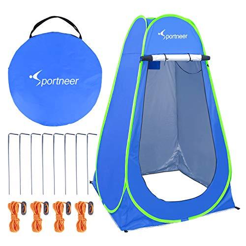 Pop Up Camping Shower Tent, Sportneer Portable Dressing Changing Room...