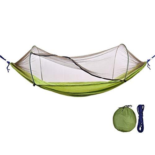 Balancelle de Jardin Balançoire en plein air avec des moustiquaires hamac peut Ours 200 kg Balançoire (Color : Green)