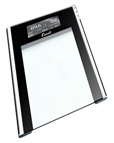 Escali Digital Bathroom Scale with Track and Target Memory (440lb/200kg)