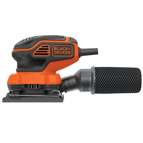 BDEQS300 finishing sander-Best Budget