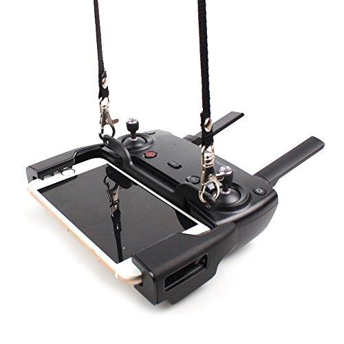 Rantow SPARK e MAVIC Telecomando Fibbia con fibbia a doppio gancio + Collo appeso cinghia cinturino collane combo per DJI Spark/DJI Mavic Pro/DJI Mavic Air Drone Transmitter