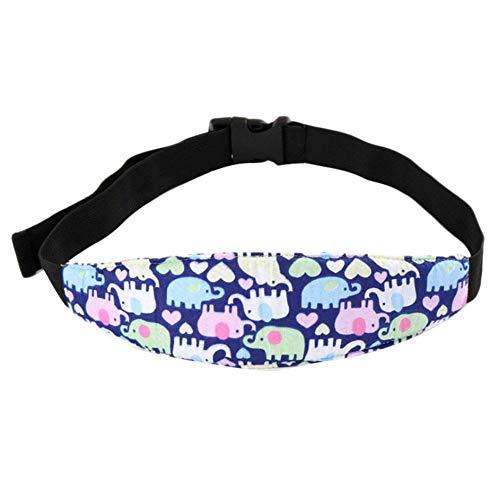 Perfecthome hoofdband voor baby's, veiligheidsgordel, autostoel, veiligheidsgordel, verstelbare hoofdbevestiging, houder voor kinderen, beschermt elleboog