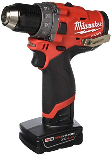 Milwaukee Electric Tools 2503-22 M12 Fuel 1/2' Drill Driver Kit