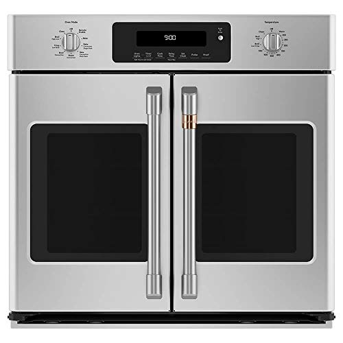 """Cafe 30"""" Smart French-Door Single Wall Oven with Convection Stainless Steel CTS90FP2MS1"""