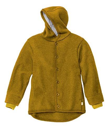 Disana Walk Jacke 3221 100% kbT Schurwolle/Futter 100% bkA Baumwolle (gold, 98/104)
