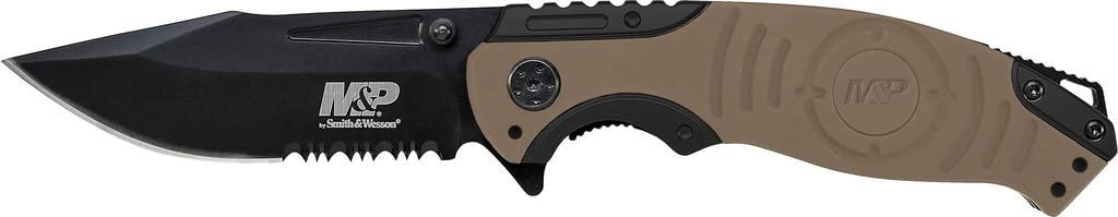 Smith  Wesson MP SWMP13GLS 8.2in High Carbon S.S. Folding Knif