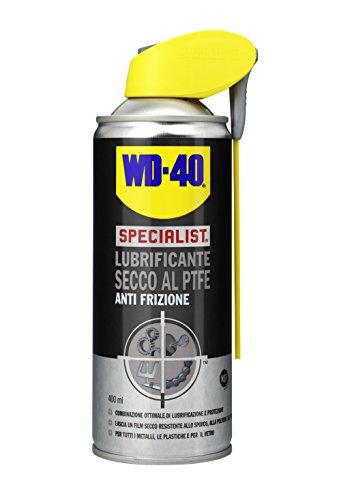 Questa formula contiene PTFE che, lasciando un film secco sul supporto, permette una migliore lubrificazione, senza attirare la polvere, lo sporco e l'unto Secca rapidamente e può essere utilizzato ugualmente come distaccante Compatibile con tutti i ...