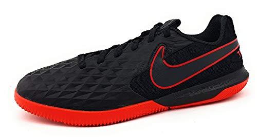 Nike Jr. Legend 8 Academy IC Sportschuhe Kinder Fußballschuhe Fußballschuh Halle Schwarz Sport Indoor, Schuhgröße:EUR 37.5   US 5Y