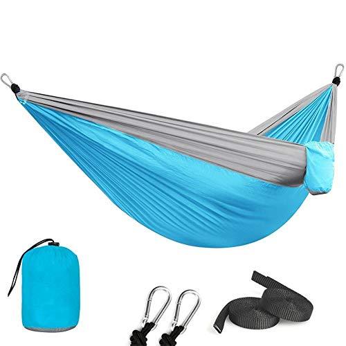 Gifftiy hangmatten voor bomen touw hangmatten buiten 1-2 personen slapen parachute hangstoel hangmat tuin schommel opknoping outdoor camping 118 * 78 Ik
