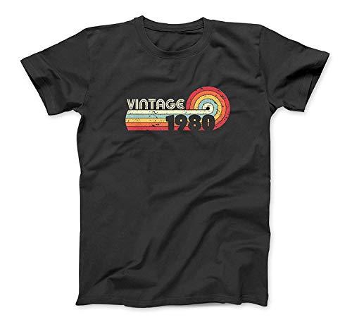40. Geburtstags-Geschenk-Hemd. Klassisch, Jahrgang 1980 T-Shirt SweatshirtHoodie Tank Top für Männer Frauen Kinder