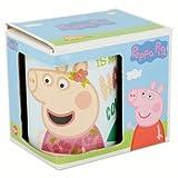 Tazza in ceramica per Bambini in confezione regalo (PEPPA PIG FLAMINGO Fenicottero)
