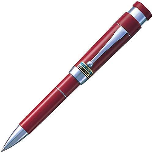 印鑑付ボールペン [黒+シャープペンシル] 0.7mm エンジ SHW-1502