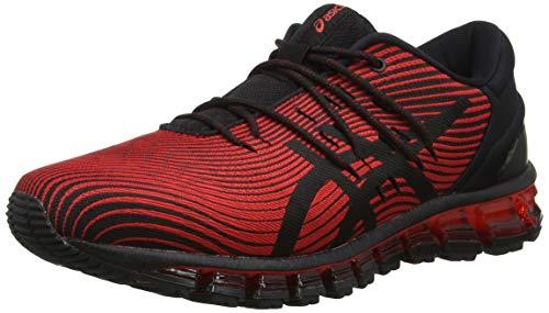 ASICS Gel-Quantum 360 4, Chaussures de Running Homme, Multicolore (Red Alert/Black 600), 41.5 EU