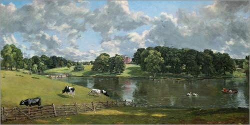 Posterlounge Hartschaumbild 80 x 40 cm: Wivenhoe Park von John Constable