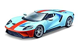 Die cast metal body with plastic parts Opening doors with hood or trunk Full function steering Four wheel suspension Color may vary