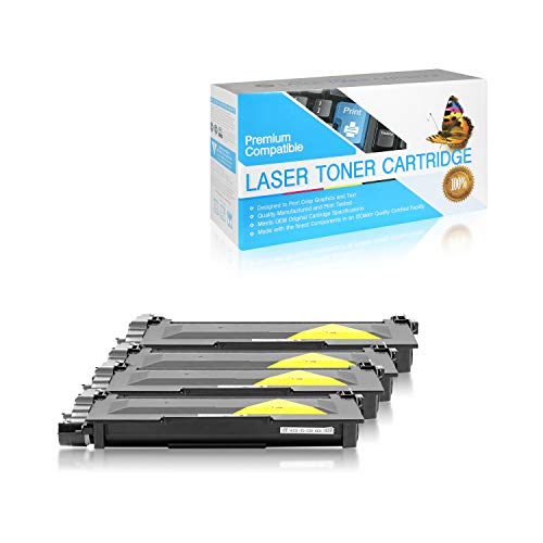 SuppliesOutlet Compatible Toner Cartridge Replacement for Brother TN630 / TN660 / TN-660 (Jumbo Black,4 Pack)