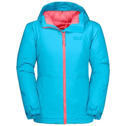 Jack Wolfskin Unisex Kinder Argon storm jacket Jacke, Atoll Blau, 152