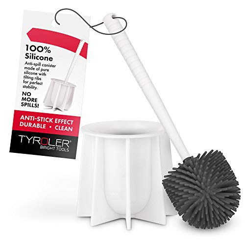 Tyroler Bright Tools Toilet Brush Set Made of...