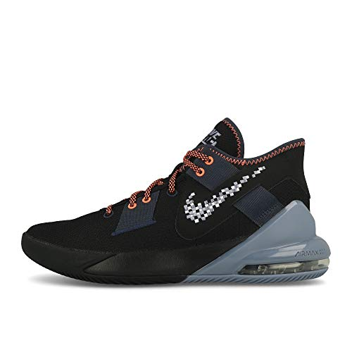 Nike Air MAX Impact 2, Zapatillas de bsquetbol Unisex Adulto, Thunder Blue Football Grey Black Ashen Slate BRT Mango, 42 EU
