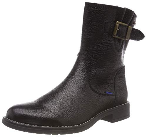 Richter Kinderschuhe Mädchen Mary Biker Boots, Schwarz (Black 9900), 33 EU