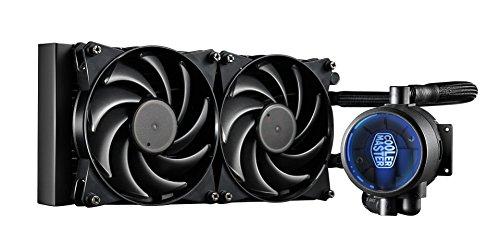 Cooler Master MasterLiquid Pro 240 Sistema di Raffreddamento a Liquido 'Radiatore da 240mm , Radiatore da 240mm , LED Blu' MLY-D24M-A20MB-R1