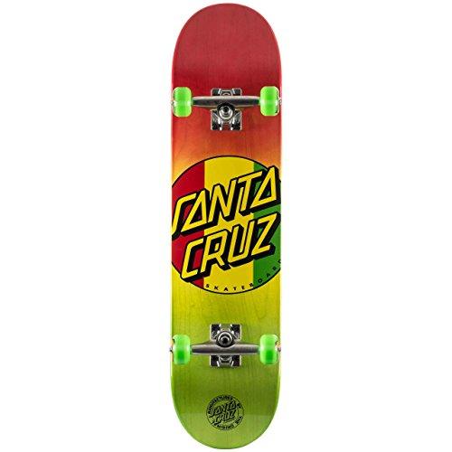 Santa Cruz Rasta Dot Regular Pre-Built Complete Rasta - 7.7'