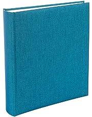 Goldbuch Summertime - Álbum de Fotos (25 x 25 cm, 60 páginas), Papel pergamino, Azul Claro, 30x31 cm