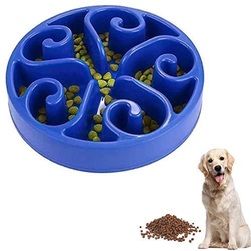 Warmiehomy Ciotola per Cane Mangiare Lento, Ciotole per Cani e Gatti Alimentazione Lenta Mangiare Lento Divertente e per Mangiare Lentamente per Animali Domestici di Piccola Media Taglia