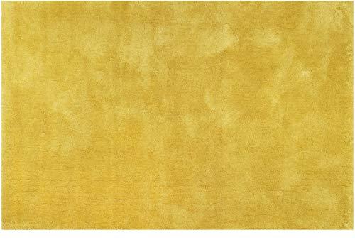 ESPRIT Teppich Hochflorteppiche #relaxx ESP-4150-36 goldgelb 80x150 cm Teppiche