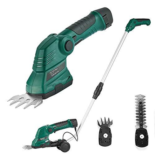 YM Elektrische accu-heggenschaar, boom machine met telescoopstang, gazon, trim schaar voor planten, heggen, boom, tuinsnijdgereedschap