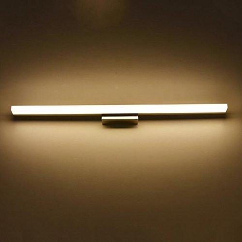 San Tai@LED Spiegelleuchte,Schranklampe Badlampe,Badleuchte Wandleuchte,Wand Spiegellampe,Beleuchtung mit Schalter,E27/E14,Leuchtmittel Typ:LED Lichter,Material:Acryl,Größe:120cm