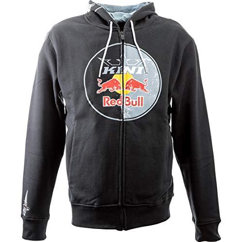 Kini Red Bull Hoodie Sweatshirt Sweatjacke Kapuzenpullover Circle Hoodie anthrazit XXL, Herren, Casual/Fashion, Ganzjährig