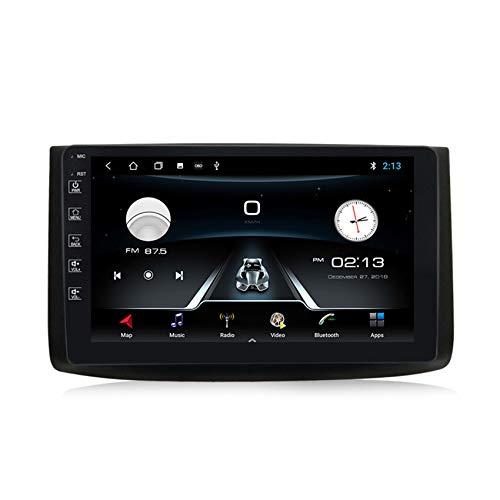 Android 10.0 Autoradio 2 Din GPS Stereo Auto Bluetooth per Chevrolet Epica 2006-2011 Supporto DSP+Carplay(M300/PX6) Controllo del Volante Collegamento speculare,M100,1+16G