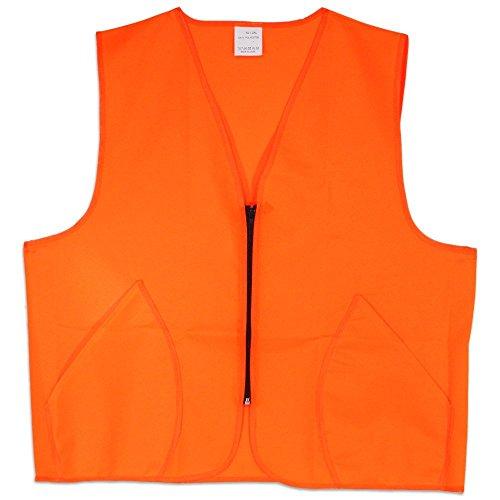 World Famous Sports Blaze Orange Hunting Vest (XL/XXL)