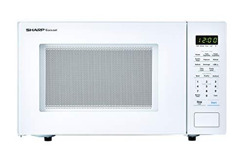 Sharp Carousel 1.1 Cu Ft 1000W Countertop Microwave Oven (Renewed)