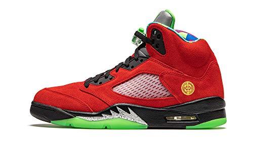 Nike Air Jordan 5 Retro SE Hombre Basketball Trainers CZ5725 Sneakers Zapatos (UK 9 US 10 EU 44, Varsity Maize Solar Orange 700)