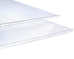 🌻 GROW HEALTHY CROPS - Create an ideal environment for your plants with our polycarbonate panels. Its multi-wall design with 4mm-thickness can provide superior protection in the summer or winter. 🌻 SAVE ENERGY - Our greenhouse panels have superb ther...