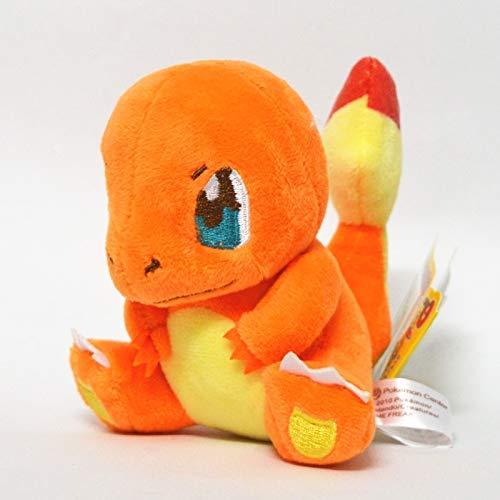 Cuddly Pokémon 13 cm Charmander Peluche Toys Toys Japón Película Anime Muñecas Regalos de cumpleaños de Navidad para niños Wangwu