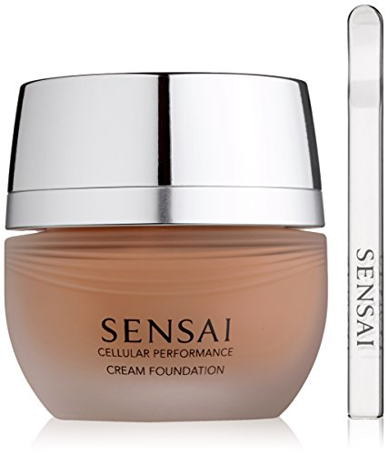Kanebo Sensai Cellular Performance femme/woman, Cream Foundation CF25 Topaz beige, 1er Pack (1 x 30 ml)