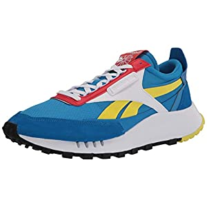 Reebok unisex-adult Classic Legacy Sneaker dynamic blue/horizon blue/instinct red 9.5 medium US