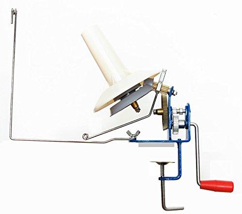 U-nitt Metal Jumbo Yarn/Wool Ball Winder Hand Operated (High Speed) Capacity: 10 oz MH701