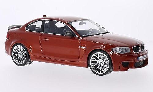 BMW 1er M Coupe, metallic-Orange, 2011, Modellauto, Fertigmodell, Minichamps 1 18