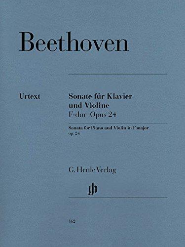 Violinsonate F-dur op. 24 (Frühling). Violine, Klavier