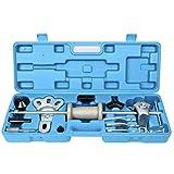 FreeTec 17 pièces Extracteur de moyeu de roue Kit d'extraction de roue avec marteau de glissement