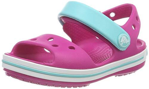 Crocs Unisex-Kinder Crocband Sandalen, Pink (Candy Pink/Pool 6lh), 33/34 EU