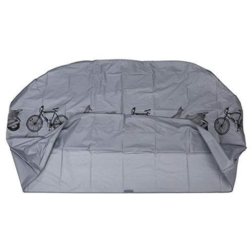 HYSJLS Al Aire Libre UV Cubierta del Protector de Lluvia for Bicicleta a Prueba de Viento de la Nieve Cubre la Motocicleta Cubierta Impermeable Alfombrilla