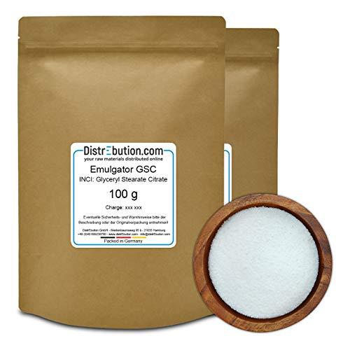 200 g Glyceryl Stearate Citrate, GSC, Emulgator für Hautcremes, Gesichtscremes & Sonnenschutz-Rezepturen