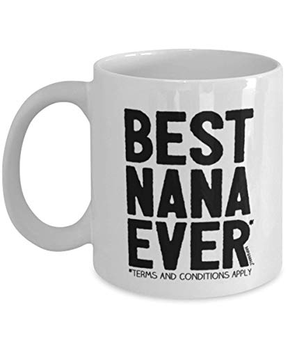 DKISEE Nana Gift - Taza para Nana - Best Nana Ever - Tazas de café - wm7933