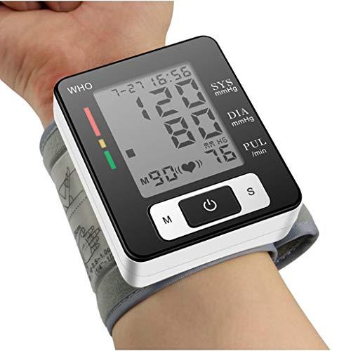 Life HS Handgelenk-Blutdruckmessgerät Blutdruckmessgerät, tragbare Reise des automatischen Anzeigenblutdruckmanschettenspeicher-Speichers, elektronischer Blutdruck der häuslichen Pflege