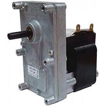 Motoriduttore Kenta per stufe a pellet 5 rpm Pacco 40 mm Albero 8,5 mm K9117153